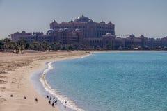 Beach in Abu Dhabi Stock Photos