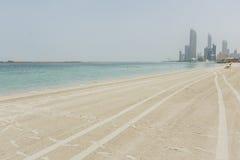 Beach in Abu Dhabi Royalty Free Stock Image
