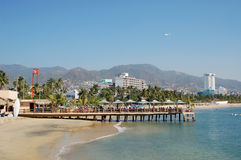 Beach in Acapulco, Mexico. Royalty Free Stock Images