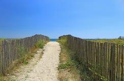 Beach access, Atlantic Ocean Royalty Free Stock Photography