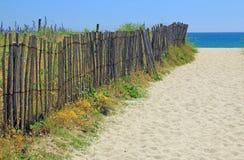 Beach access, Atlantic Ocean Royalty Free Stock Photo