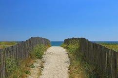 Beach access Stock Photography