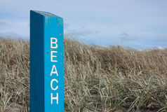 Beach Access Stock Images