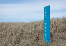 Beach Access Stock Photography