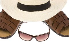 Beach accessories. Stock Photos
