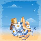 Beach accessories Stock Photo