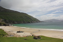 Beach in Achill Island, Ireland Stock Images