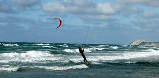 Beach activities:kite Royalty Free Stock Photo