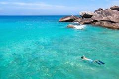 Beach activities Stock Images