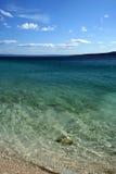 Beach on Adriatic sea, Brela Stock Photos
