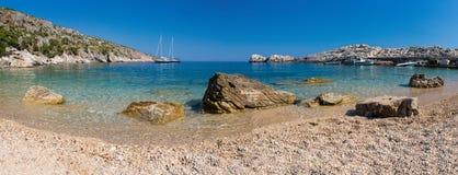 Beach in the Adriatic Sea Stock Photo