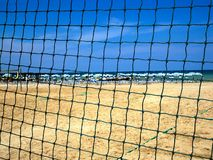 Beach. Adriatic Sea , Misano Adriatico , Marche , Italy royalty free stock photo