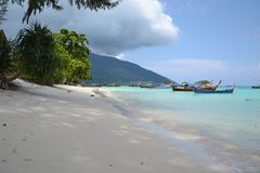 Beach. On the Adriatic Sea in Thailand on Lipe island Stock Photography