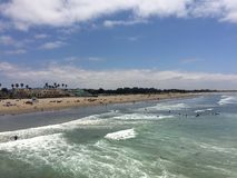 At the Beach. Adventuring in California royalty free stock image