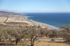 Beach in Agadir, Morocco Royalty Free Stock Photography