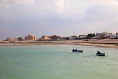 Beach in Al Khor. Qatar Royalty Free Stock Photos