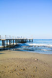 The beach in Alanya Royalty Free Stock Images
