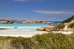 Beach, Albany, WA. The Beach outside Albany, Western Australia Stock Photos