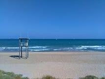 Albufera Beach. Beach in Albufera national park, Spain Royalty Free Stock Photos