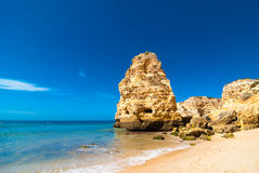 Beach In The Algarve Royalty Free Stock Image