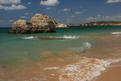 Beach Algarve Stock Photo