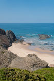 Beach in Algarve coast, summertime in Portugal Royalty Free Stock Photography