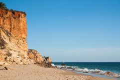 Beach in the Algarve, Portugal Stock Photography