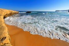 Beach along Great Ocean Drive Royalty Free Stock Image