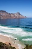 Beach along south africas coastline. At the indian ocean royalty free stock photo