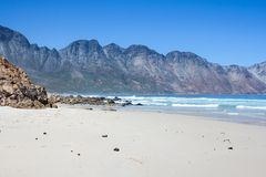 Beach along south africas coastline. At the indian ocean stock images