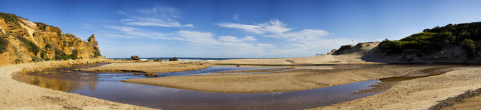 Beach in Alreys inlet, Australia Royalty Free Stock Images