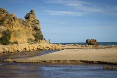 Beach in Alreys inlet, Australia Royalty Free Stock Photos