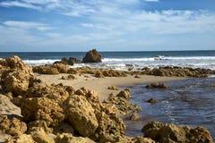 Beach in Alreys inlet, Australia Stock Image