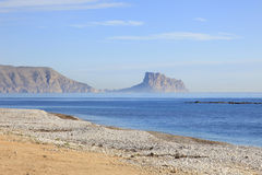Beach at Altea Costa Blanca Spain Royalty Free Stock Photos