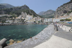 Beach of Amalfi, Italy Stock Photography
