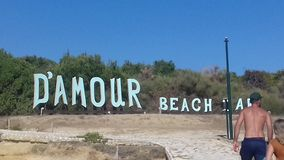 D'AMOUR BEACH Royalty Free Stock Image