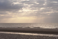 Beach of Amrum Stock Images