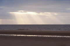 Beach of Amrum Stock Images