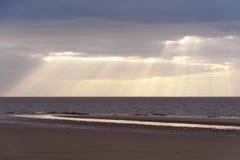 Beach of Amrum Stock Photography