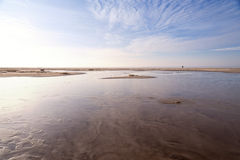 Beach of Amrum Stock Image