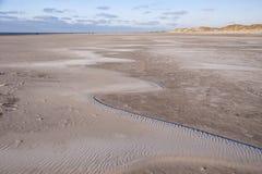 Beach of Amrum Royalty Free Stock Photo