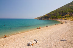 Beach in Anamur Stock Photography
