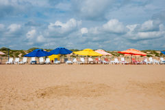 beach in Anapa on the Black Sea, Russia Stock Images