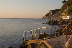 The beach of Ancona Royalty Free Stock Images