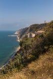 The beach of Ancona Royalty Free Stock Photos