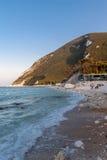 The beach of Ancona Stock Photos