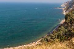 The beach of Ancona Royalty Free Stock Photo