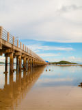 Beach And Pier Royalty Free Stock Photography