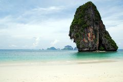 Beach Andaman Sea Thailand Stock Image