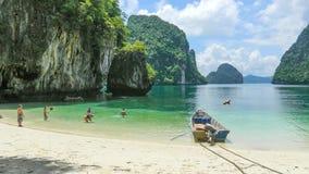 Beach in Andaman sea, Thailand, royalty free stock image